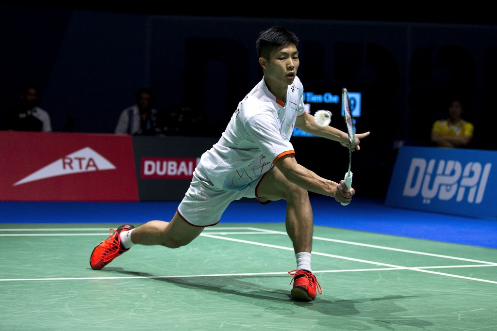 Chou stuns top seed to reach men's singles final at BWF German Open