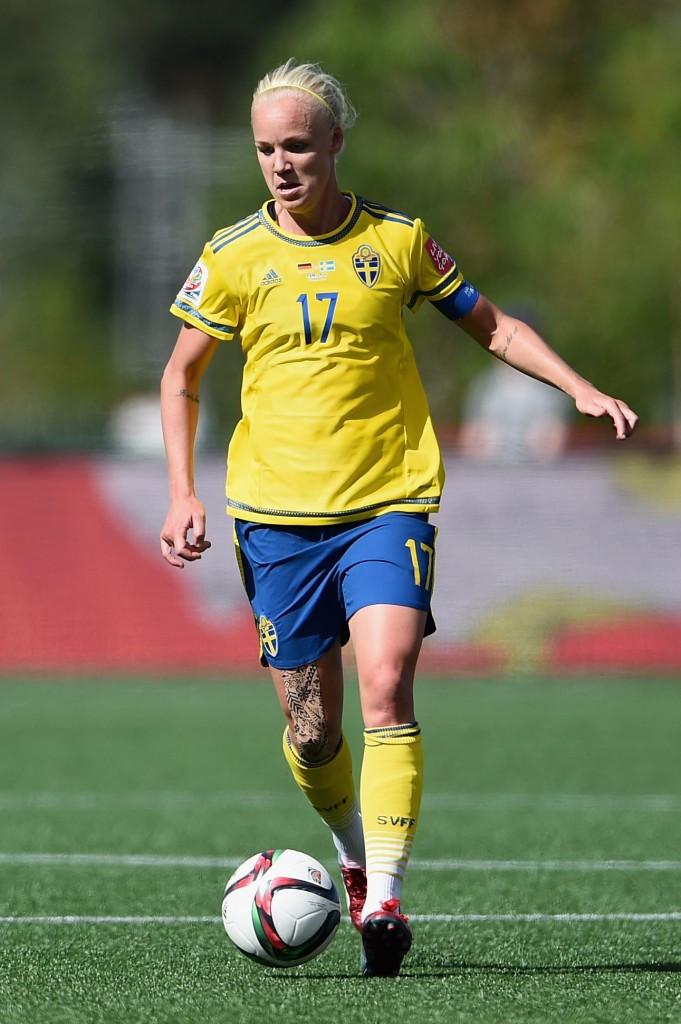 Caroline Seger's goal gave Sweden a second victory ©Getty Images