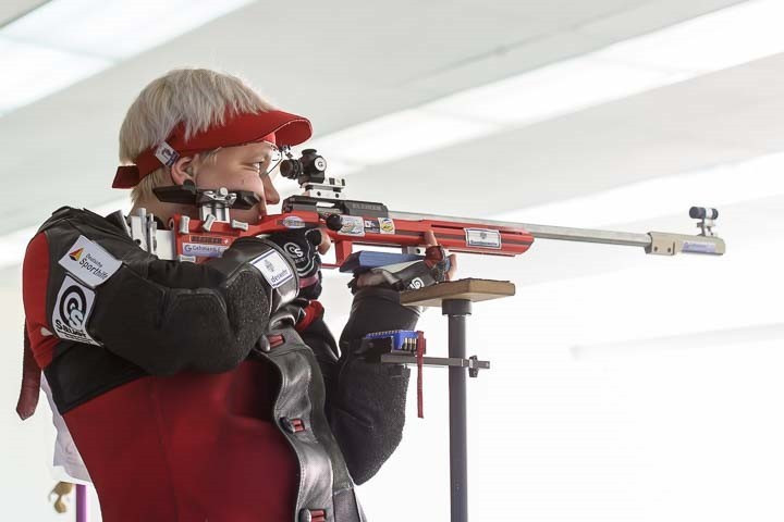 Jolyn Beer won in her first World Cup in Bangkok ©ISSF
