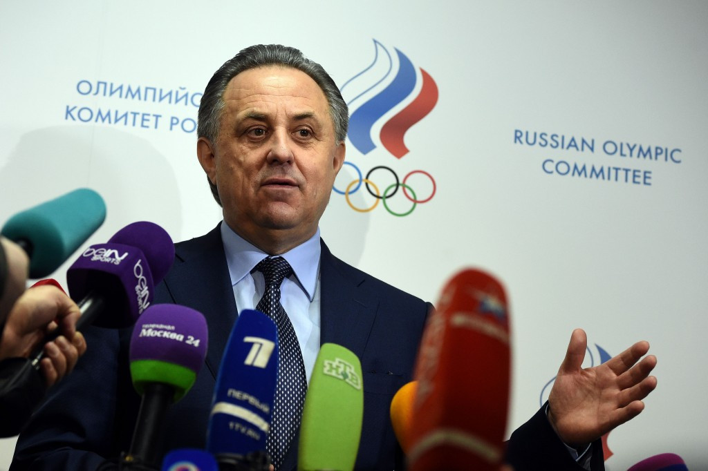 Russian Sports Minister Vitaly Mutko claimed the third ARD documentary about doping in athletics in his country is purely trying to influence worldwide opinion that they should be banned from Rio 2016 ©Getty Images