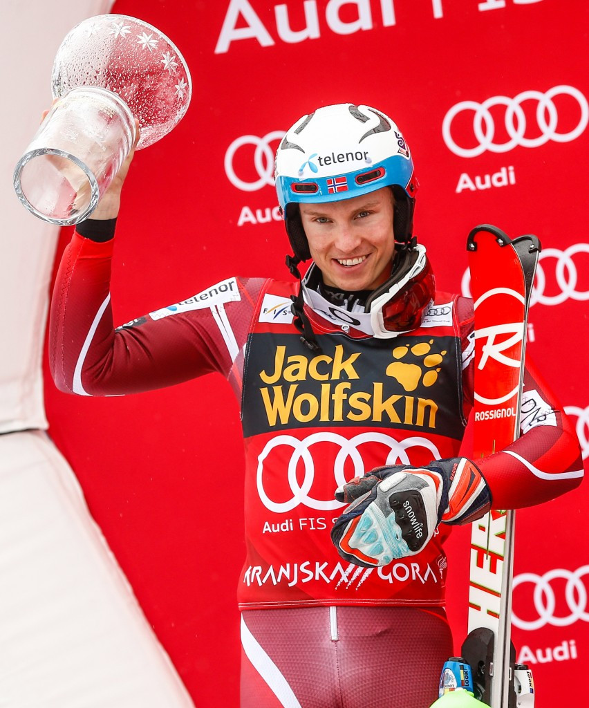 Henrik Kristoffersen won the overall slalom title today ©Getty Images