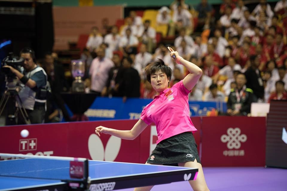 China also forced Japan to settle for silver in the women's event