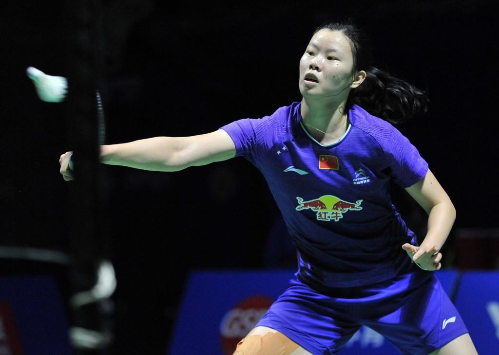 China's Li Xuerui claimed the women's singles title