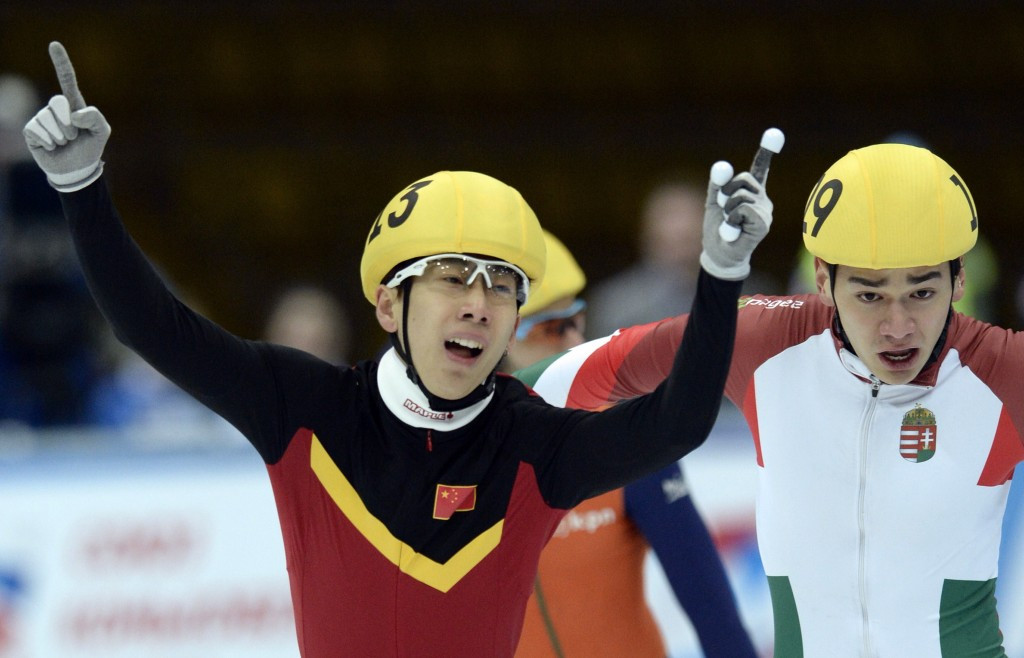 China monopolise 1,000m podiums as curtain comes down on inaugural ISU Shanghai Trophy