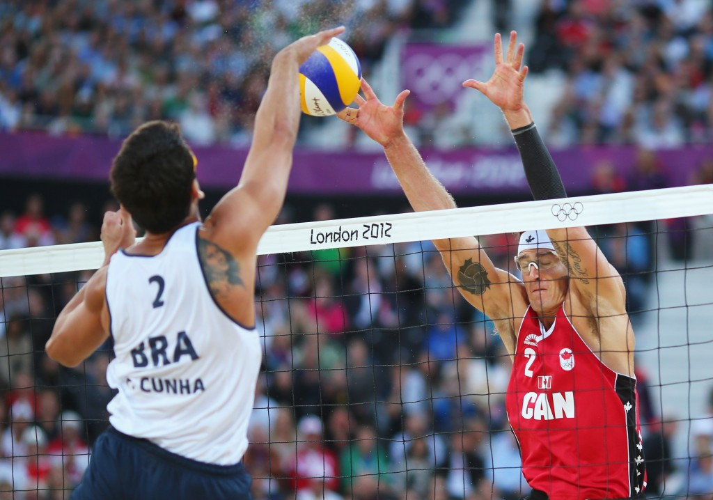ICanada in action against Brazil at the 2012 Olympic Games ©Getty Imagesmage title