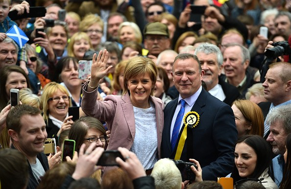 Drew Hendry, seen here with SNP leader Nicola Sturgeon, wants the case re-opened