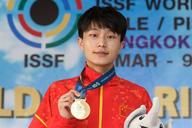 Zhang takes pistol title at ISSF World Cup in Bangkok