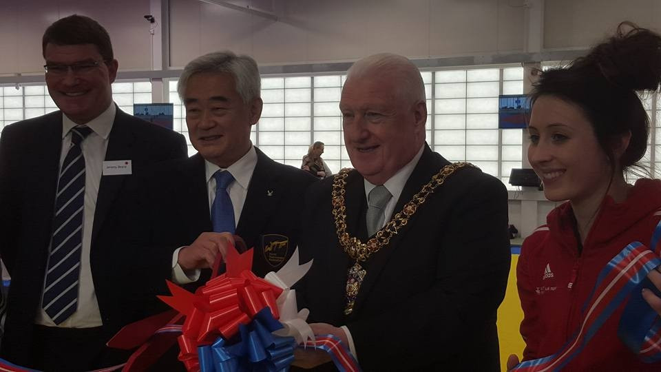 WTF President opens new GB Taekwondo National Centre