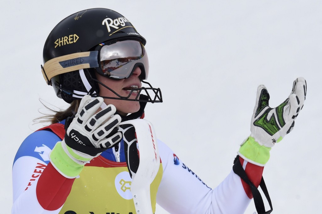 Lara Gut has moved back to the top of the overall World Cup standings ©Getty Images