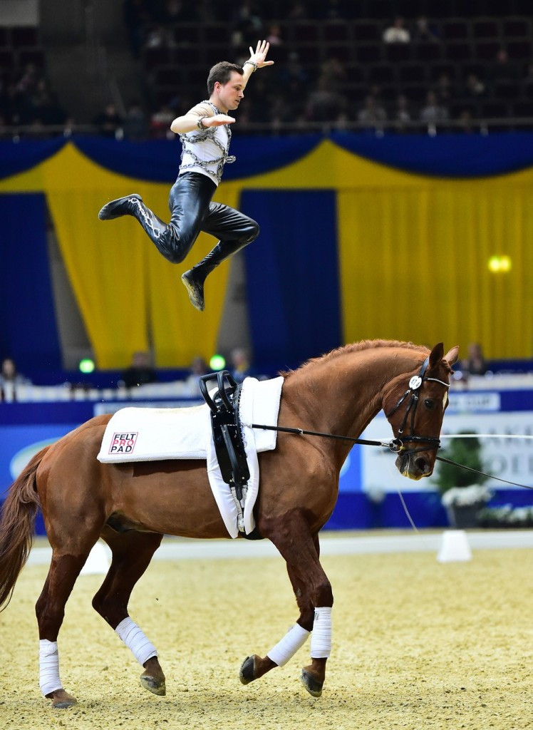 Dortmund hosted the vaulting World Cup final ©Getty Images