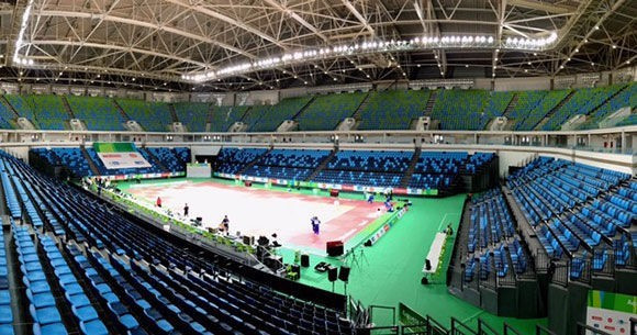 More than 105 athletes across four weight classes are set to compete at the Rio 2016 judo test event, which is due to begin tomorrow in Barra Olympic Park's Carioca Arena 1 ©IJF