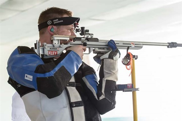 Matthew Emmons won the final gold in Bangkok ©ISSF