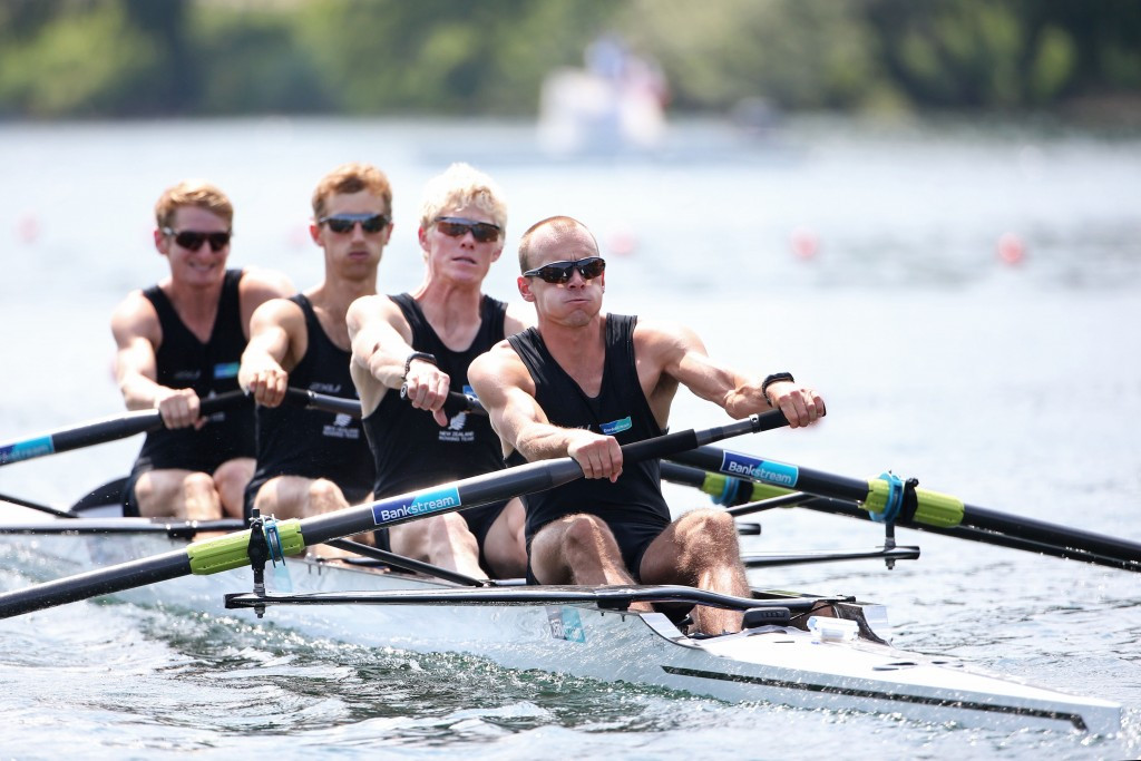 The men's lightweight four could be removed under the proposals ©Getty Images