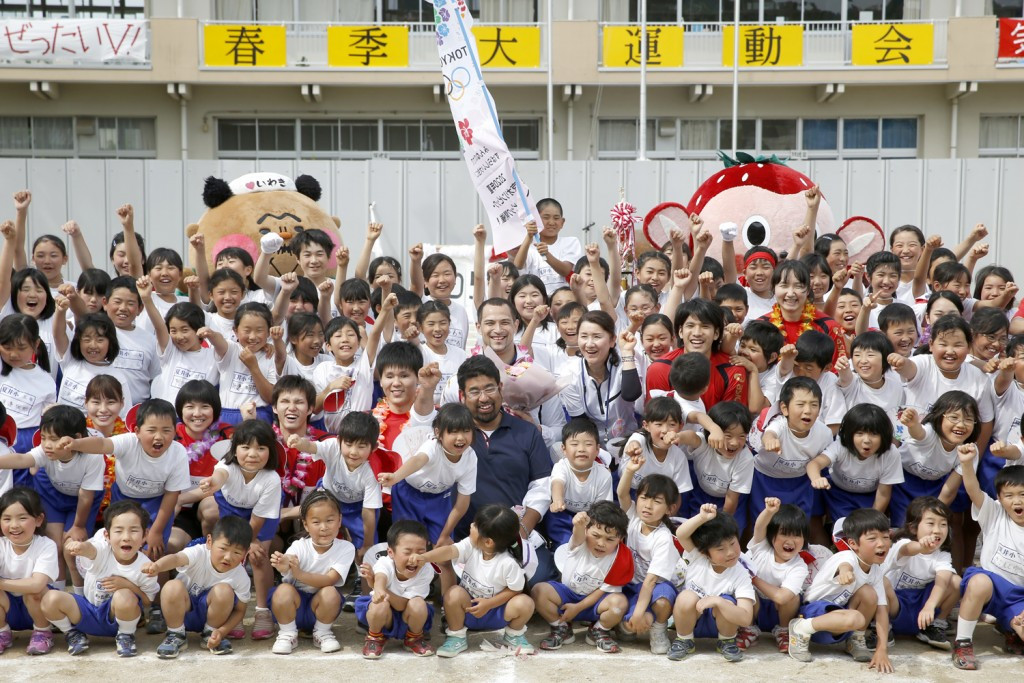 Tokyo 2020 launch Young Athletes' project to inspire youth and aid those affected by the Great East Japan Earthquake