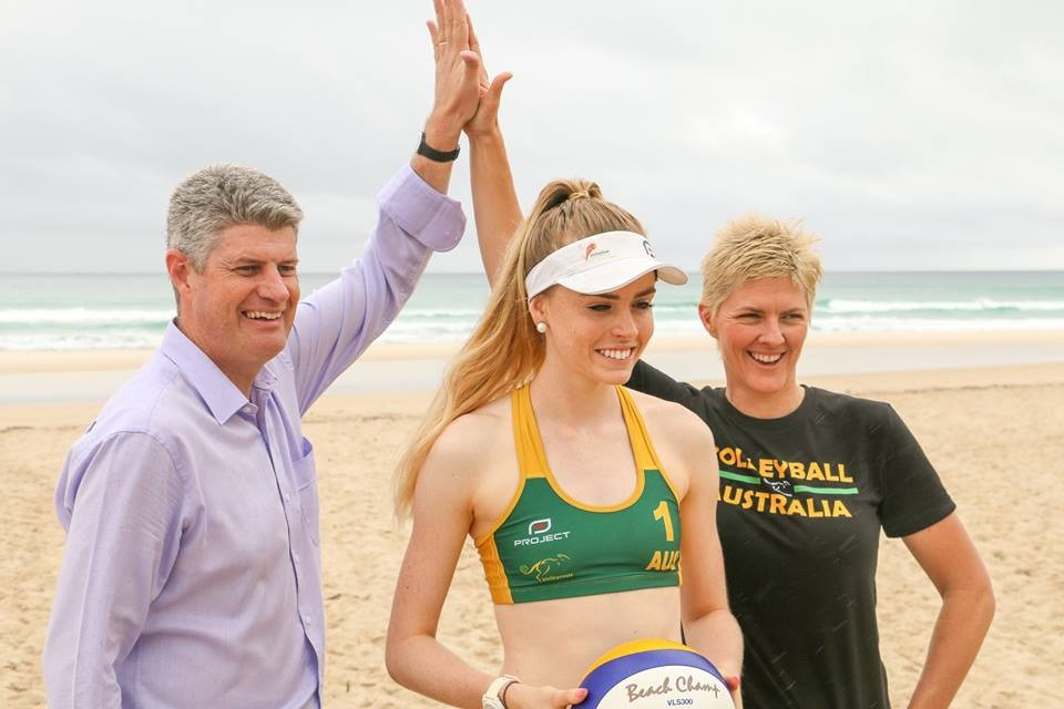Beach volleyball has been added to the Gold Coast 2018 programme ©Gold Coast 2018