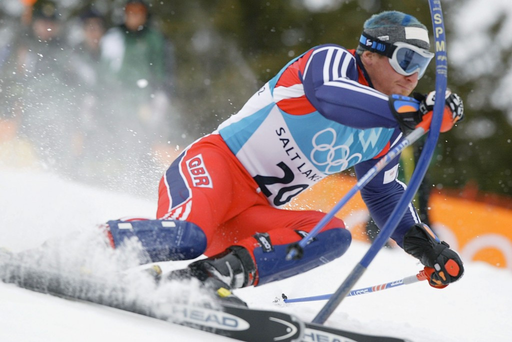 Alain Baxter had been the first Briton to win an Olympic skiing medal when he finished third in the slalom at Salt Lake City 2002 but was subsquently stripped of it following a positive drugs test ©Getty Images