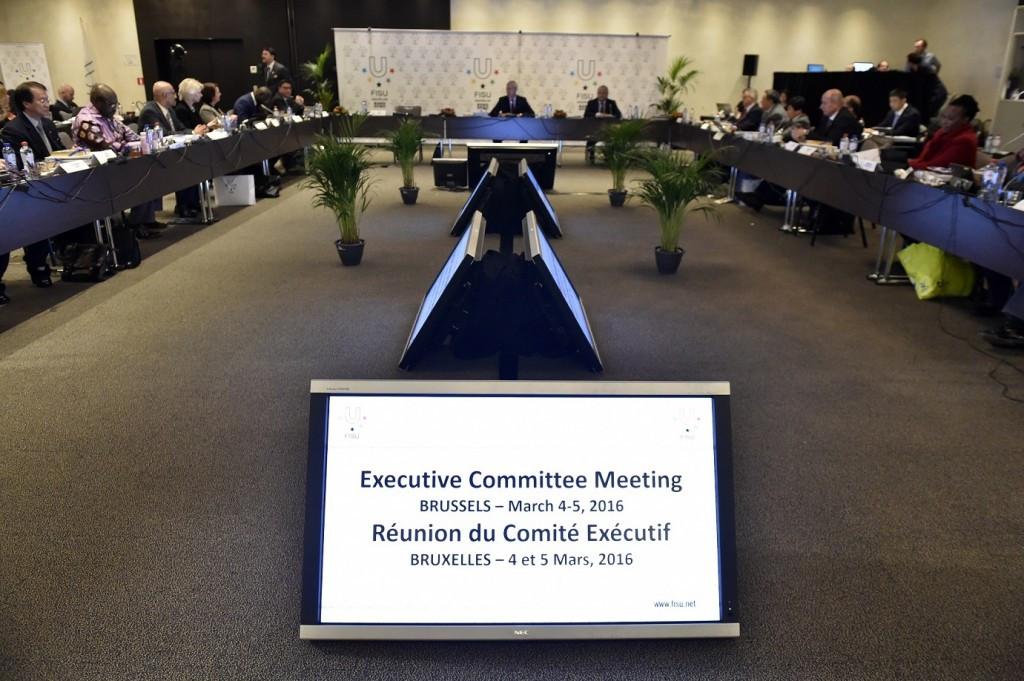 FISU has voted in favour of developing a 10-year strategic plan ©FISU