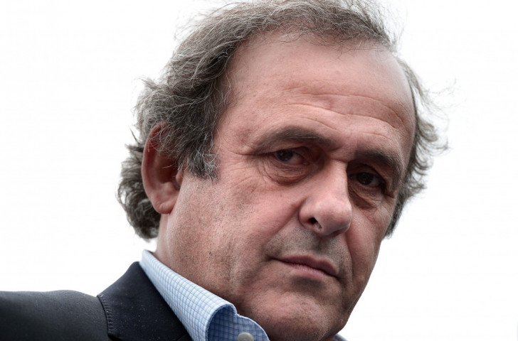 "Platini claims football will ""suffer"" if Blatter is re-elected as he throws support behind Prince Ali"