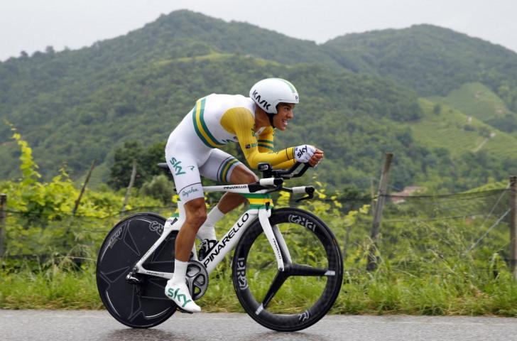 Team Sky rider Porte withdraws from Giro d'Italia through injury