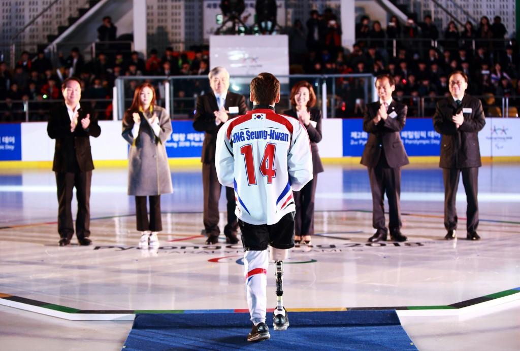 Ice sledge hockey star Jung Seung-Hwan has been named as a Pyeongchang 2018 Honorary Ambassador ©Pyeongchang 2018