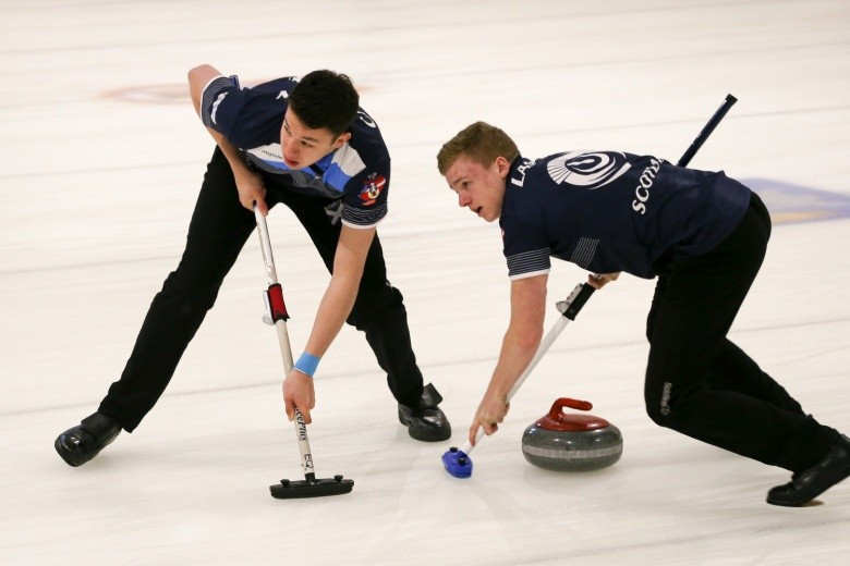 Scotland and US men out in front after double triumph at World Junior Curling Championships
