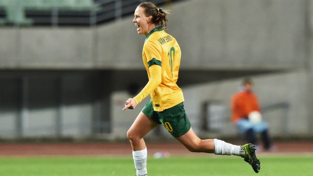 Australia finished top of the AFC Women's Olympic Qualifying Tournament as they drew 1-1 with China
