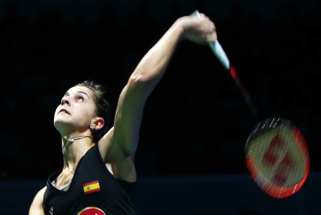 Defending champion Marin battles through to second round at All England Badminton Championships