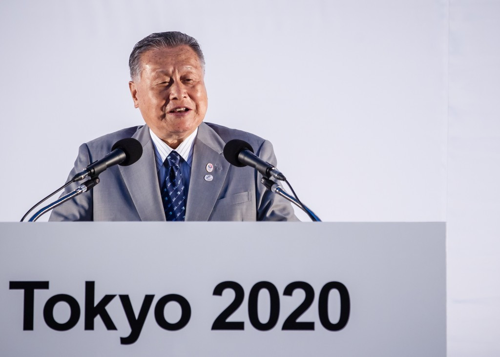 Tokyo 2020 chief executive Yoshiro Mori said there are plans for a test event to be held on the marathon course in Sapporo ©Getty Images