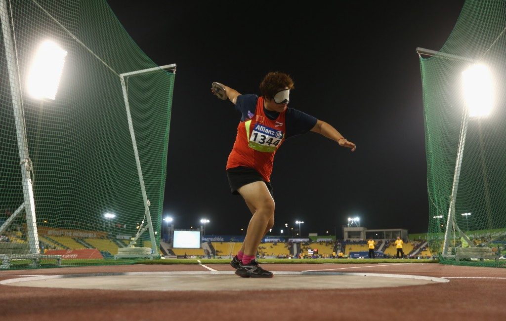 Zhang leads Chinese success at IPC Athletics Asia-Oceania Championships
