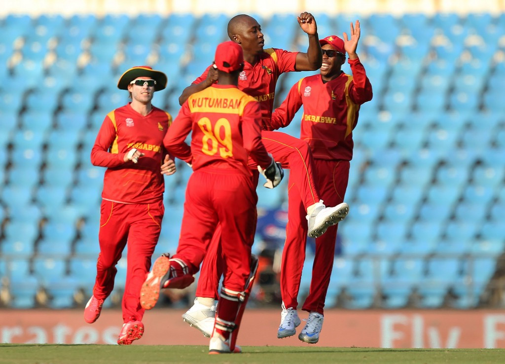 Zimbabwe and Hong Kong earn vital World Twenty20 wins as ICC switch venue of India's clash with Pakistan