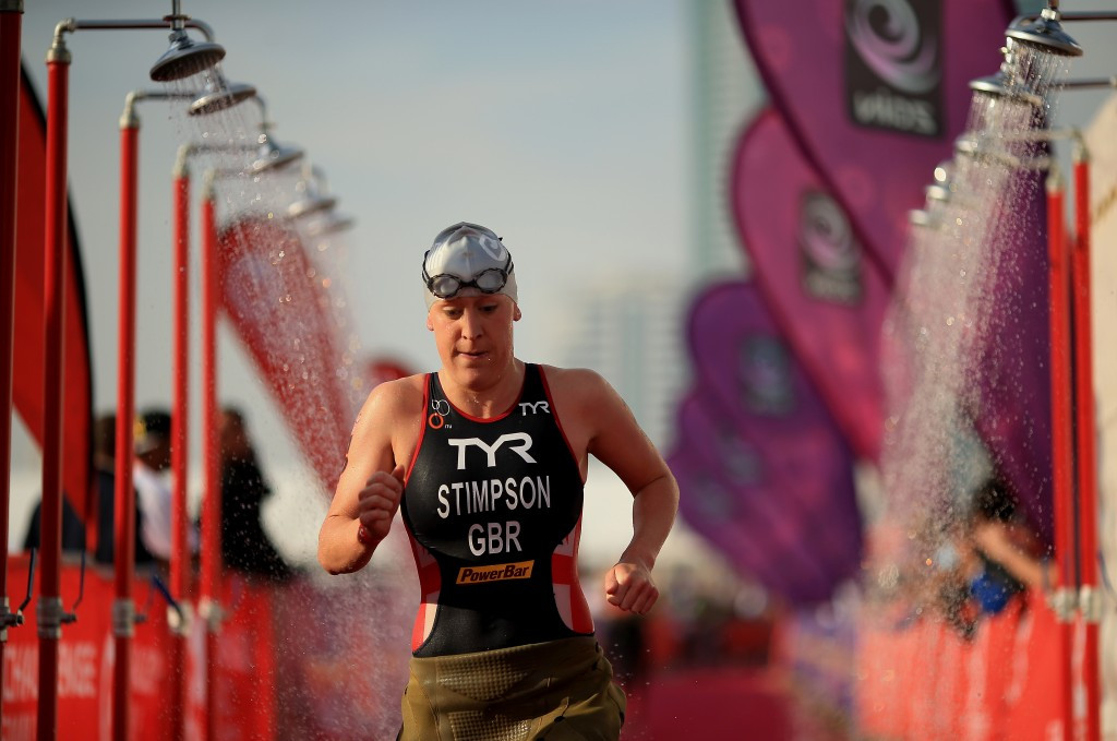 Britain's Jodie Stimpson comes into the event in Mooloolaba having triumphed in Abu Dhabi