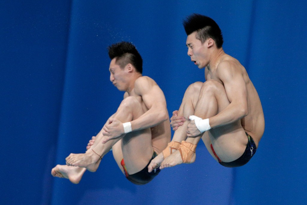 China win all four gold medals on day one of FINA Diving World Series in Beijing
