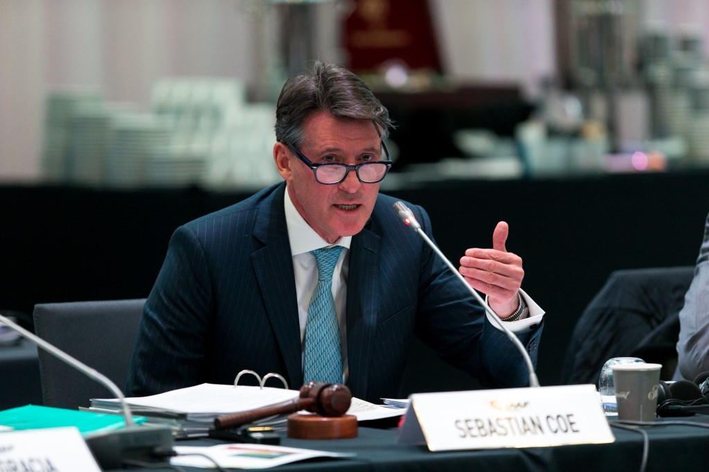 "IAAF President Sebastian Coe has revealed that Ethiopia, Morocco, Kenya, Ukraine and Belarus are all in ""critical care"" when it comes to their anti-doping programmes ©IAAF"