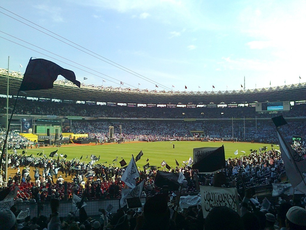 The Gelora Bung Karno Sports Complex was originally built for the 1962 Asian Games in Jakarta and will be used again in 2018