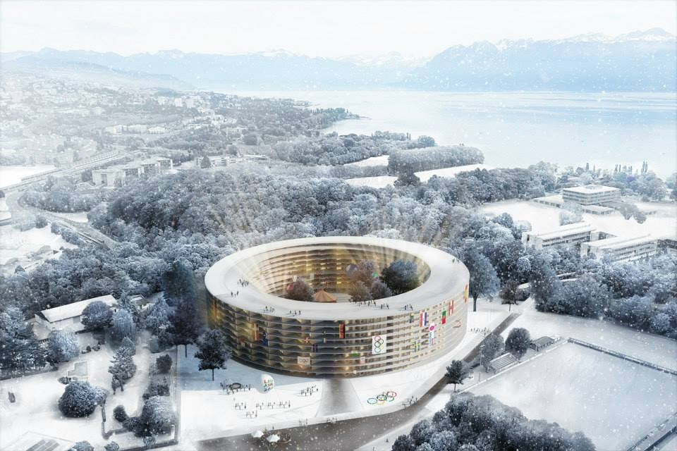The Athletes' Village at Lausanne 2020 was chosen last year and would have been built irrespective of whether the Swiss city was successful in its bid ©Lausanne 2020