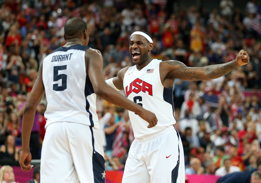 Gold medallists United States to meet three continental champions as Rio 2016 basketball draw is made