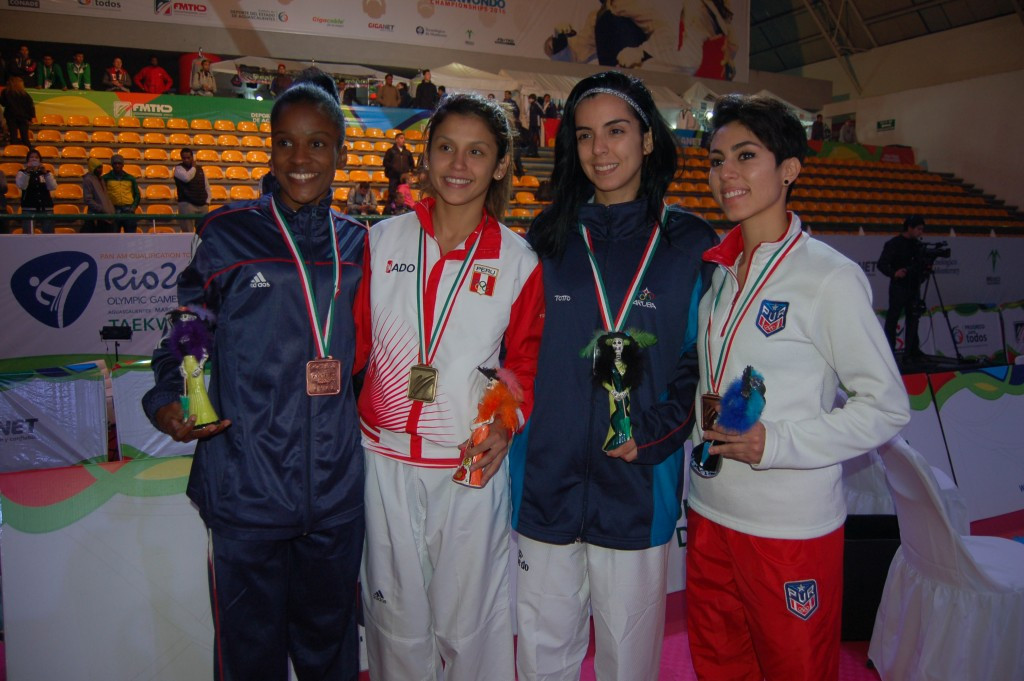 Golds for dominican republic at wtf rio 2016 pan american qualifier