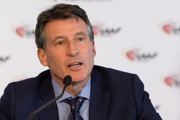 IAAF President Sebastian Coe is currently overseeing a series of reforms he promises will make them a leader in sport ©IAAF