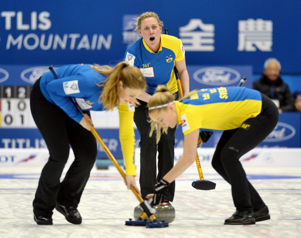 Sapporo hosted the 2015 Women's World Curling Championships