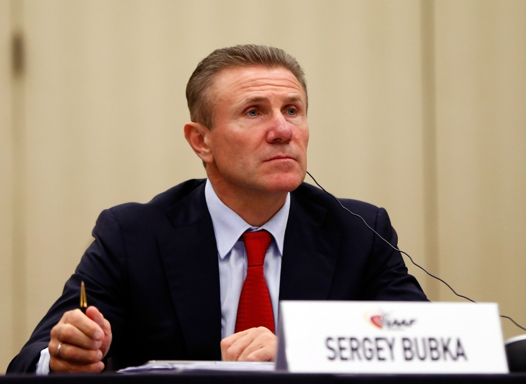 Ukrainian Sergey Bubka is campaigning to replace Lamine Diack as IAAF President alongside Briton Sebastian Coe
