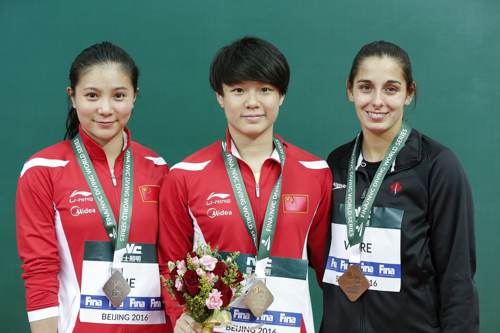 World champion Tingmao leads further Chinese success at FINA Diving World Series in Beijing