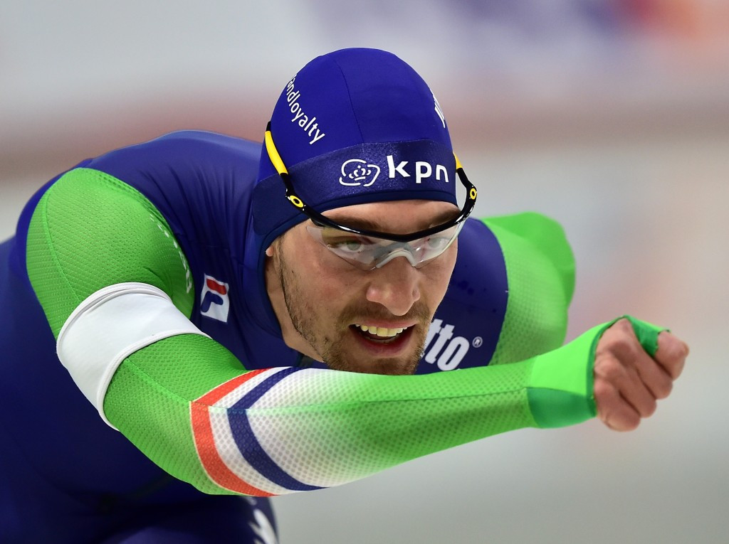 Kjeld Nuis won the 1000m title on home ice ©Getty Images