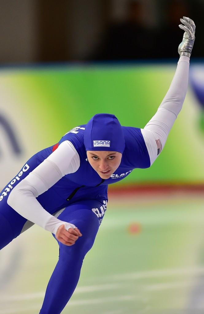 Heather Richardson-Bergsma won the women's 500m despite not winning a race all season over the distance