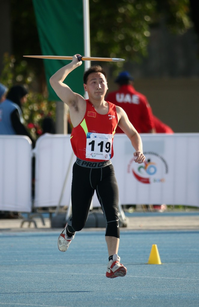 Pengkai Zhu helped China to finish second on the medals table