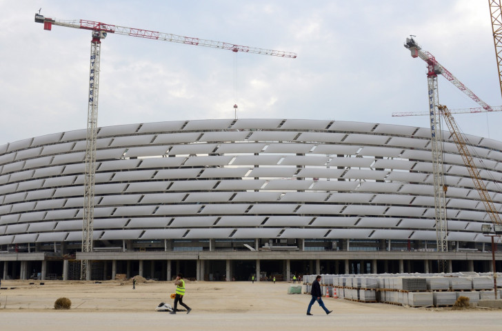 Einius Petkus believes the Baku 2015 facilities could serve as a benchmark for future European Games