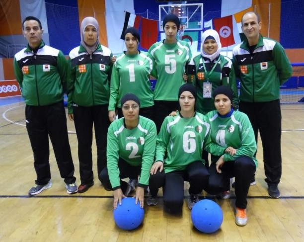 Algeria qualify men's and women's goalball teams for Rio 2016 Paralympics