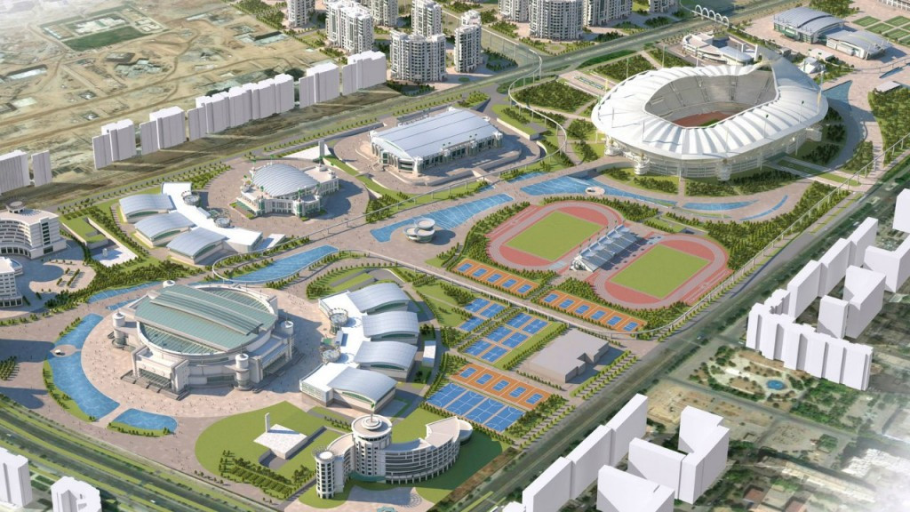 The state-of-the-art Olympic Complex is designed to make Ashgabat a major sporting destination