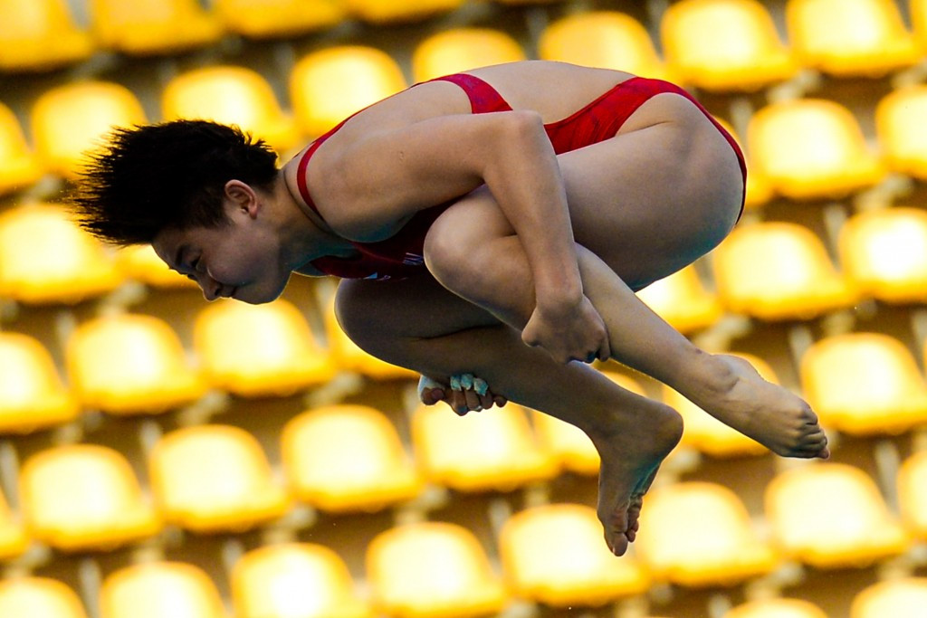 Si Yajie triumphed in the women's 10m event