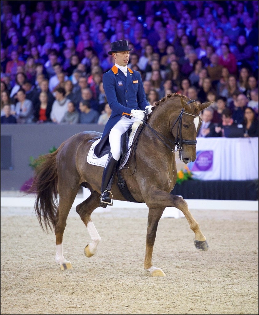Minderhoud triumphs at FEI Dressage World Cup in 's-Hertogenbosch