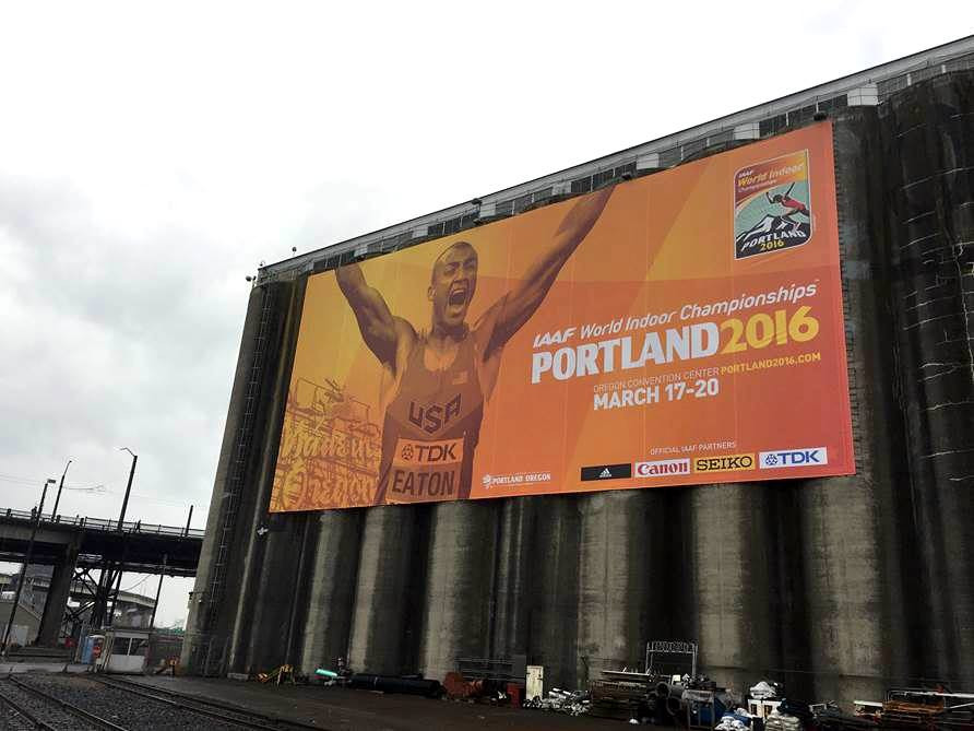 Portland is getting ready to host the IAAF World Indoor Championships, an event seen as important part of the build-up to Eugene 2021 ©Facebook/Portland 2016